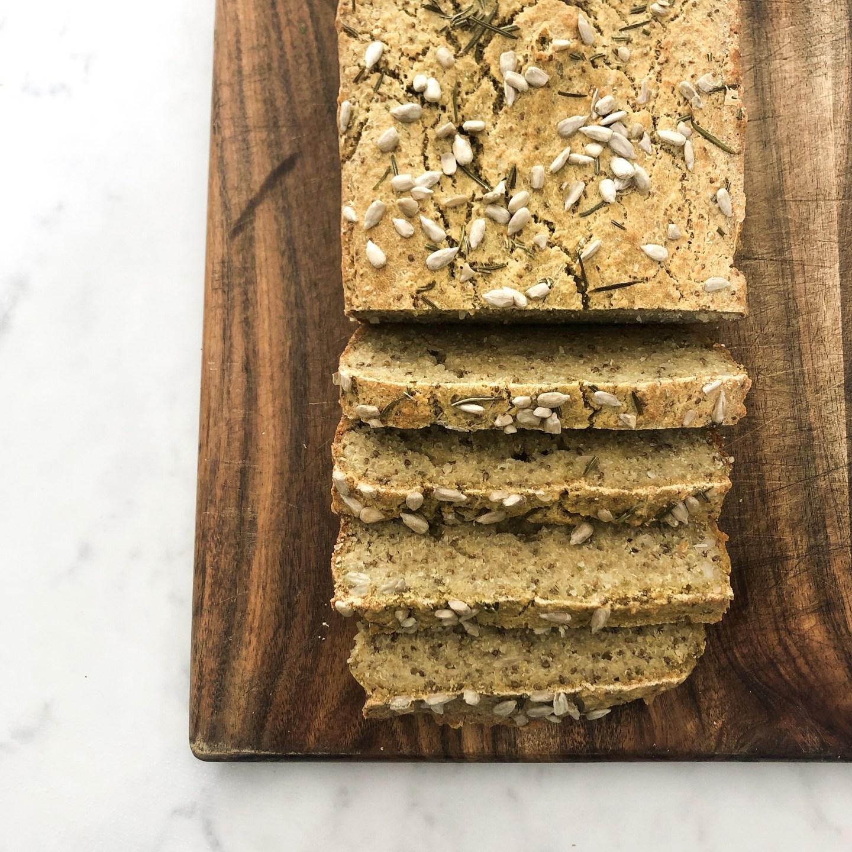 Rosemary & Orange Quinoa Loaf