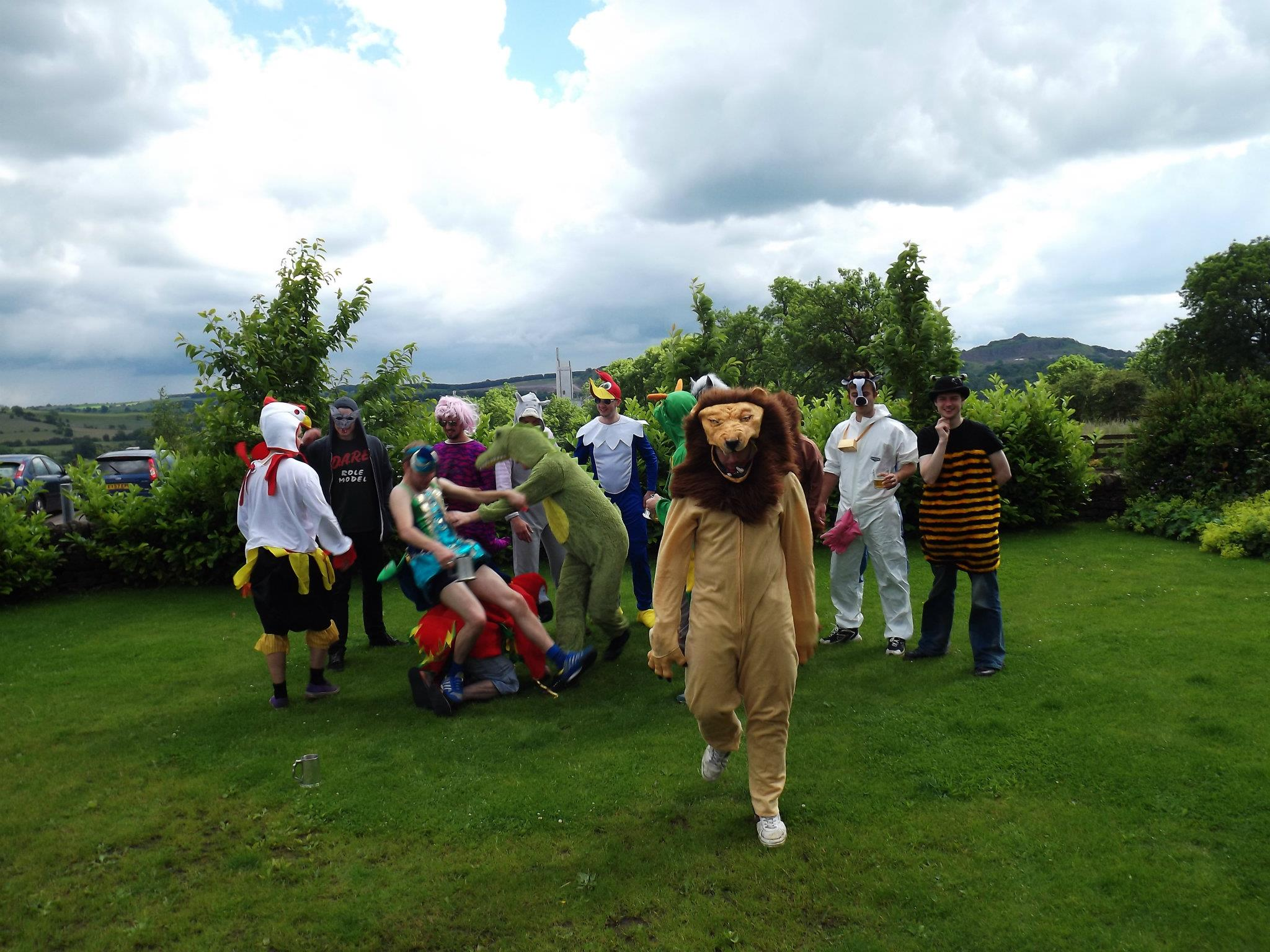 Science, podcasts &learning new things all the time - (I'm the dude in the lion outfit…)