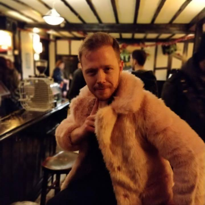 Have I mentioned fur yet…? - Of the plastic variety, the only thing harmed in this photo is my dignity.