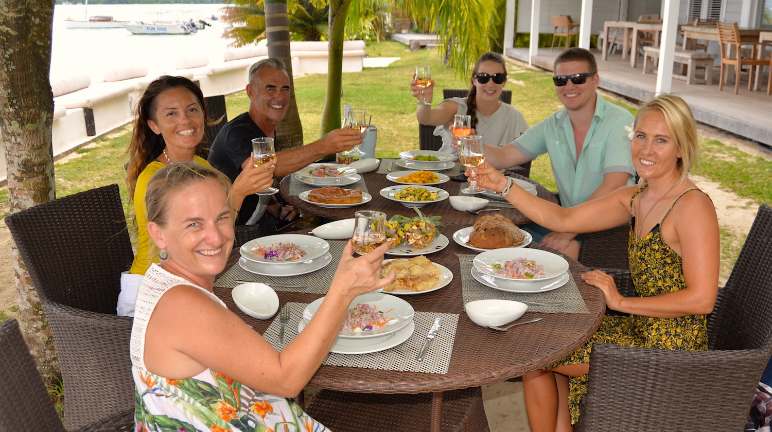 Experience Moorea's best and freshest foods -