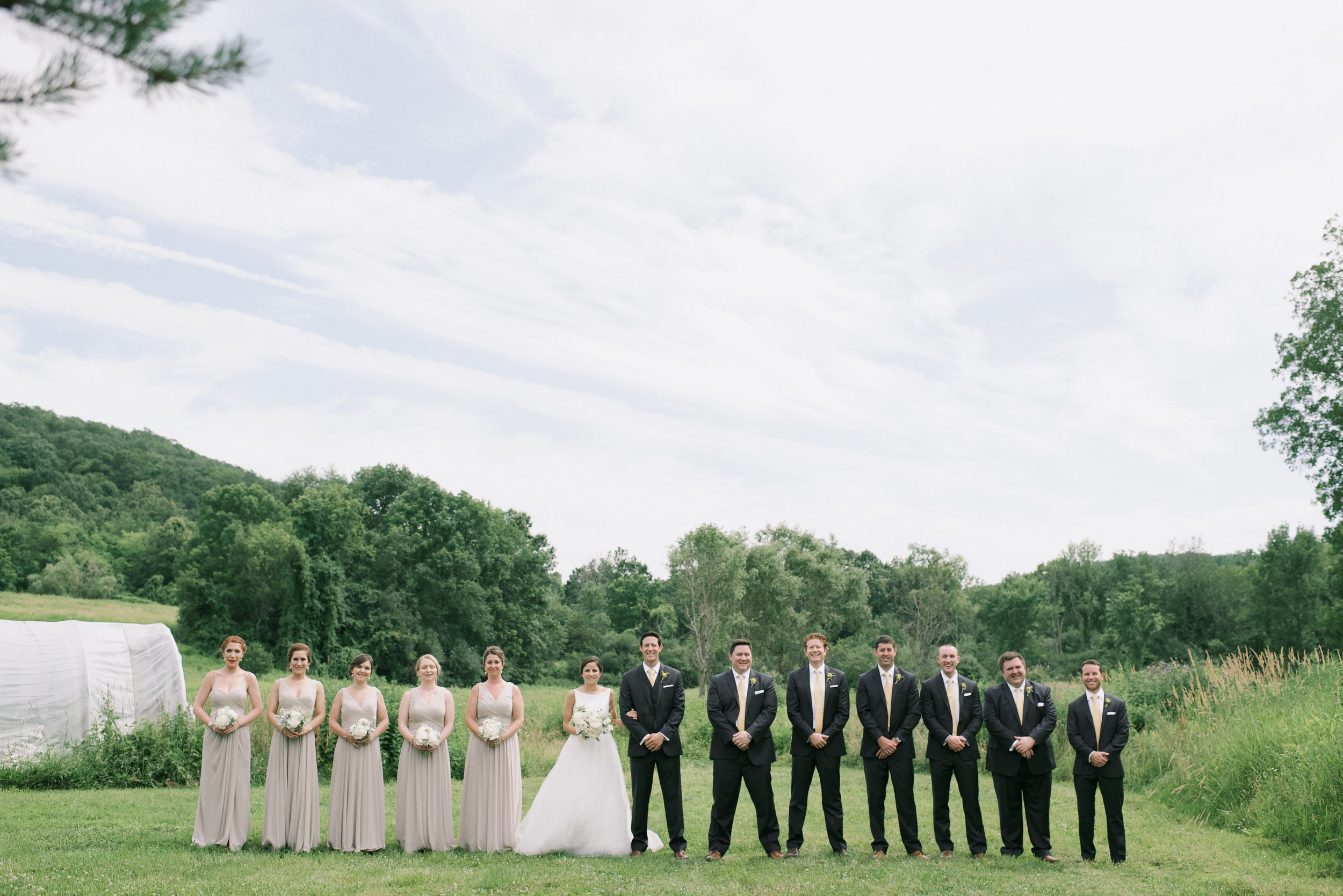 blooming hill farm wedding hudson valley