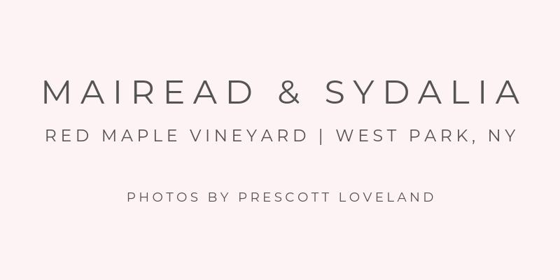 Hudson Valley Vineyard Wedding Planner