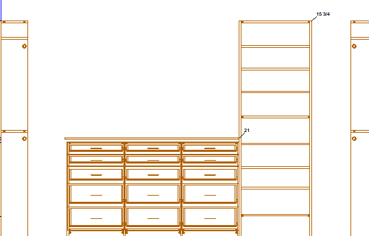 CAD Design Wall View