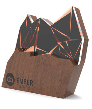 Nominee - Best Digital Project  Ember Awards