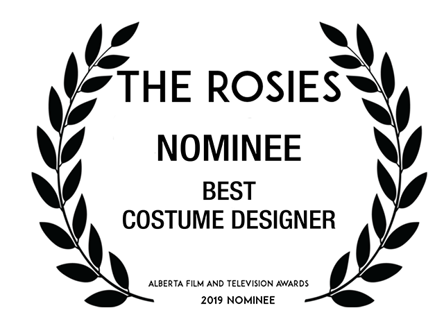 Nominee Best Costume Designer  AMPIA Rosie Awards