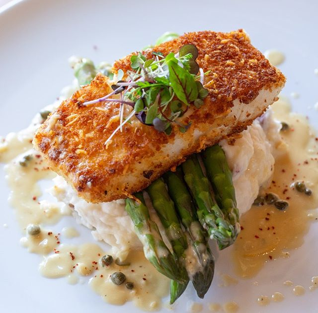 CMH offers incredible gourmet specials every evening. The parmesan crusted halibut is one of the most popular specials with grilled asparagus, mashed potatoes, and a creamy lemon and caper sauce! Come in or give us a call to inquire about our changing daily specials!