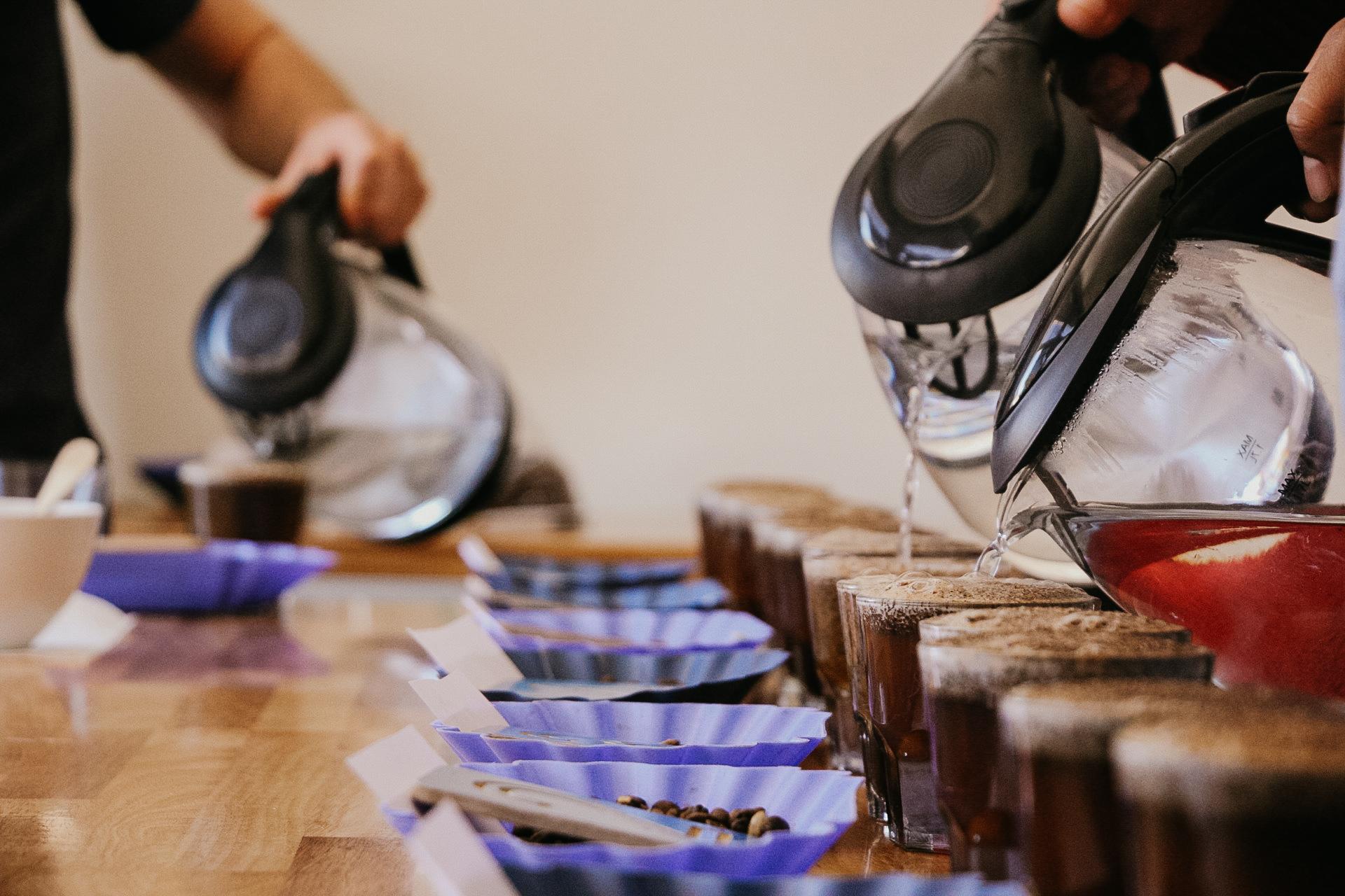 Ready, set, pour.