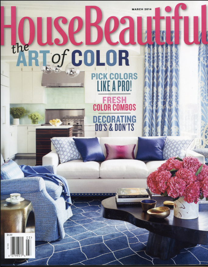 HOUSE BEAUTIFUL // MARCH 2014