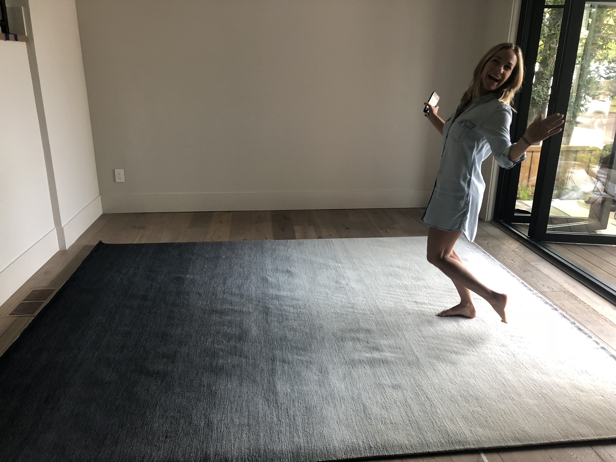 Rugs are exciting business!