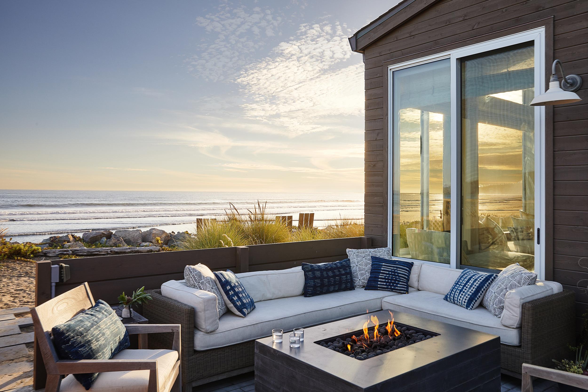 Lauren Nelson Design // Stinson Beach House // Porch
