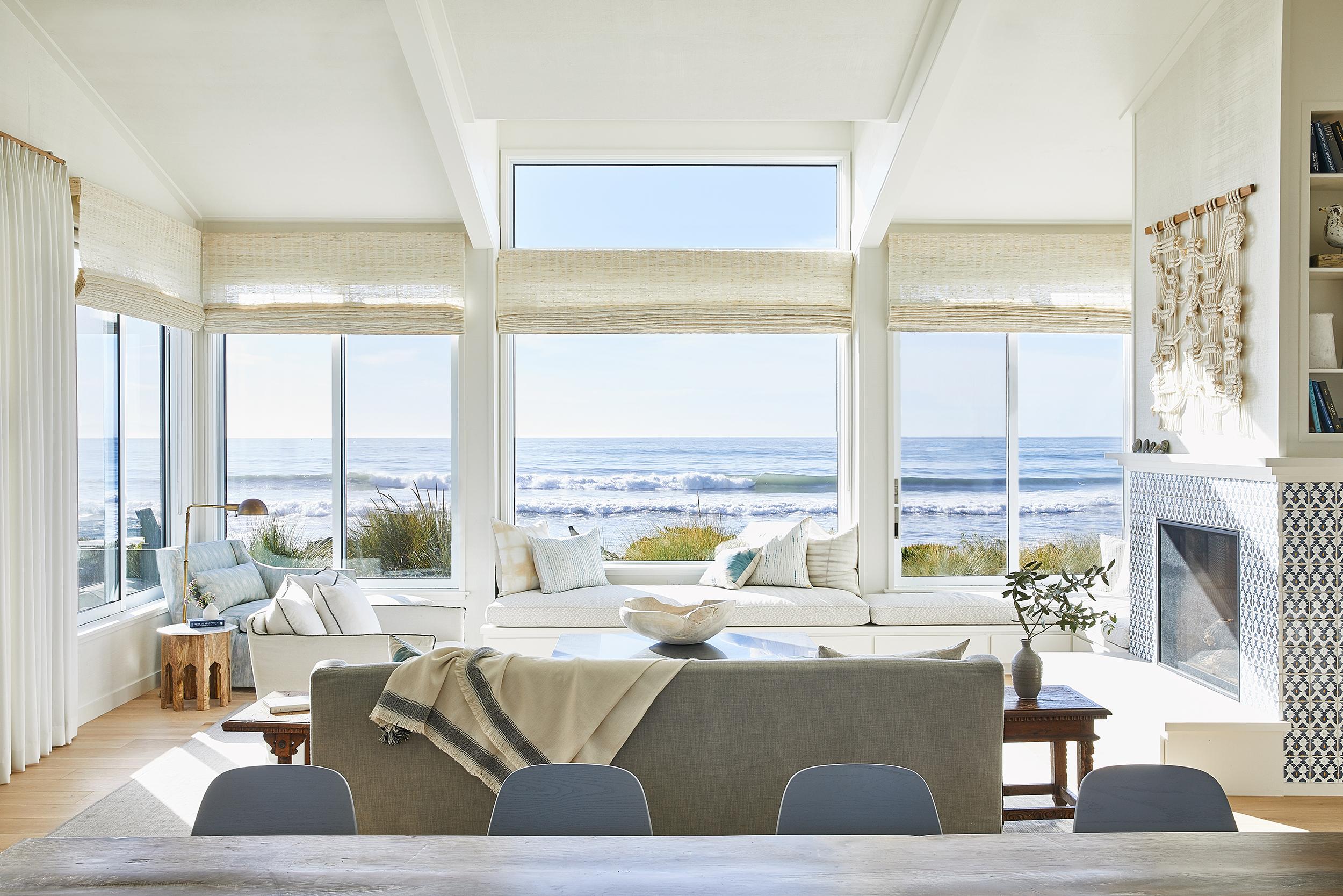 Lauren Nelson Design // Stinson Beach House // Living Room