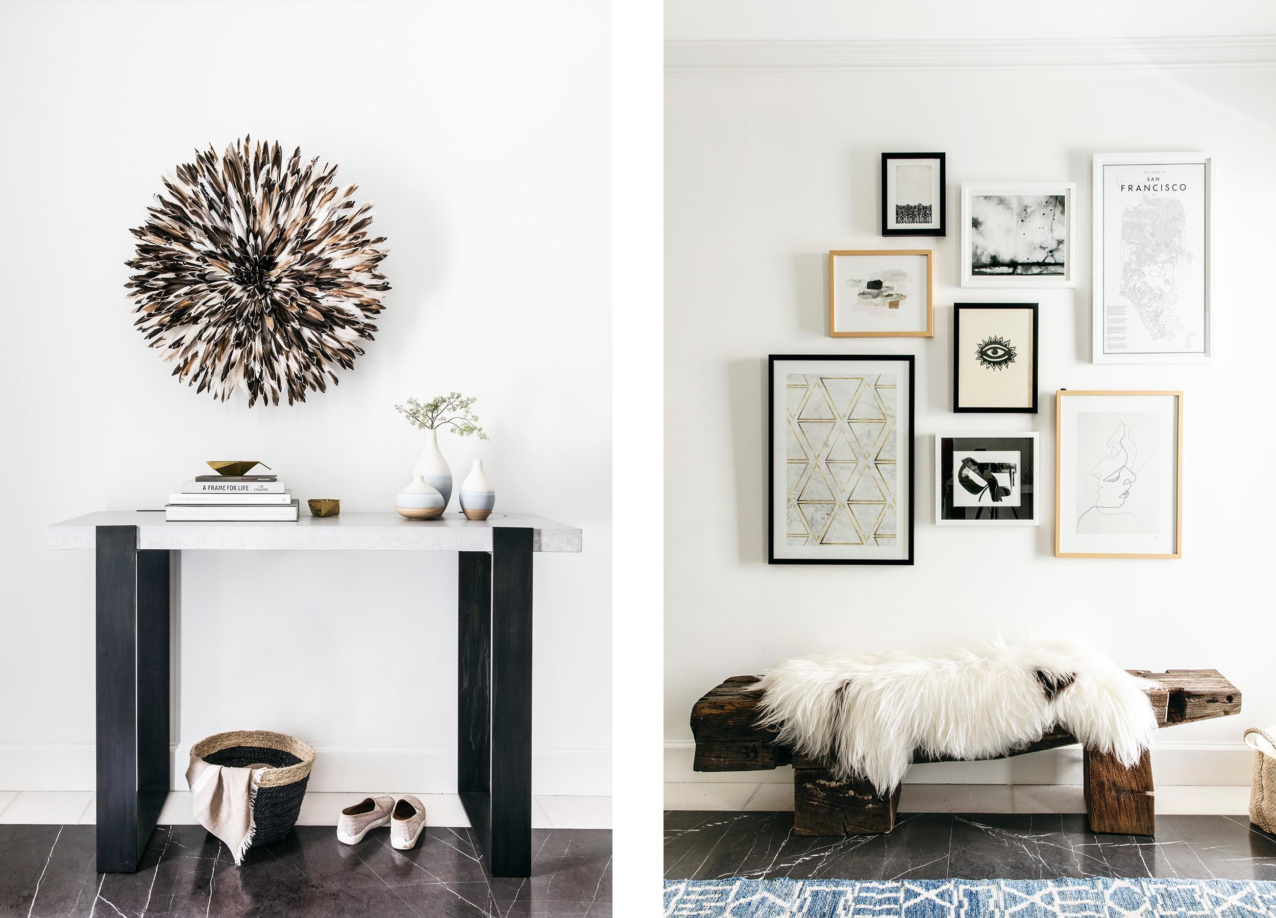 Lauren Nelson Design // Marina Home // Entry