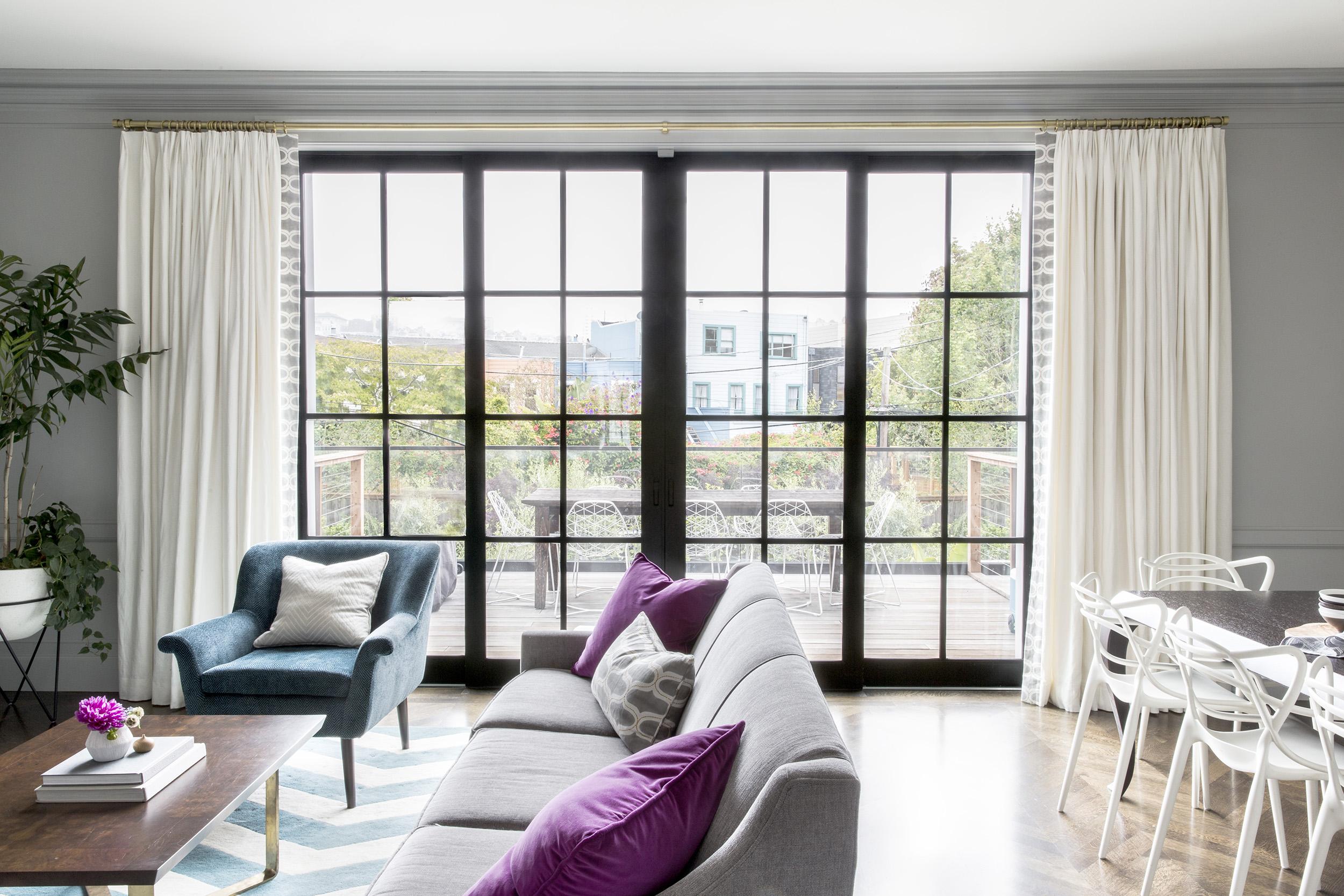 Lauren Nelson Design // Marina Home // Family Room