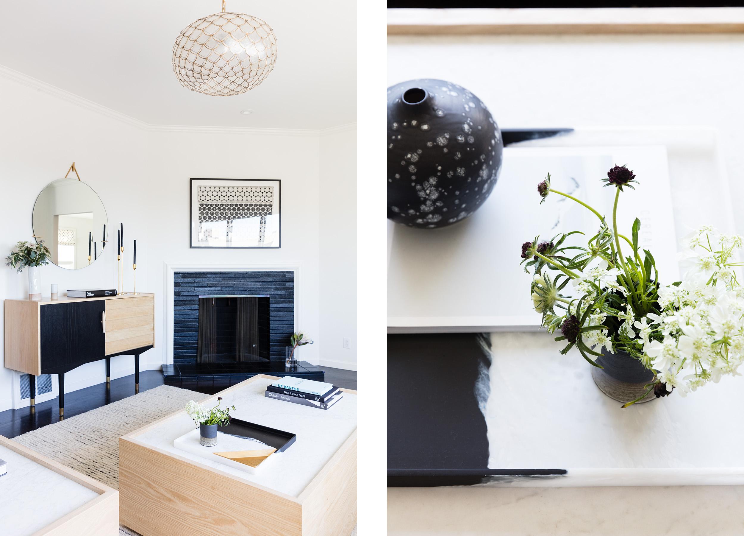 Lauren Nelson Design // Laurel Heights Home // Living Room