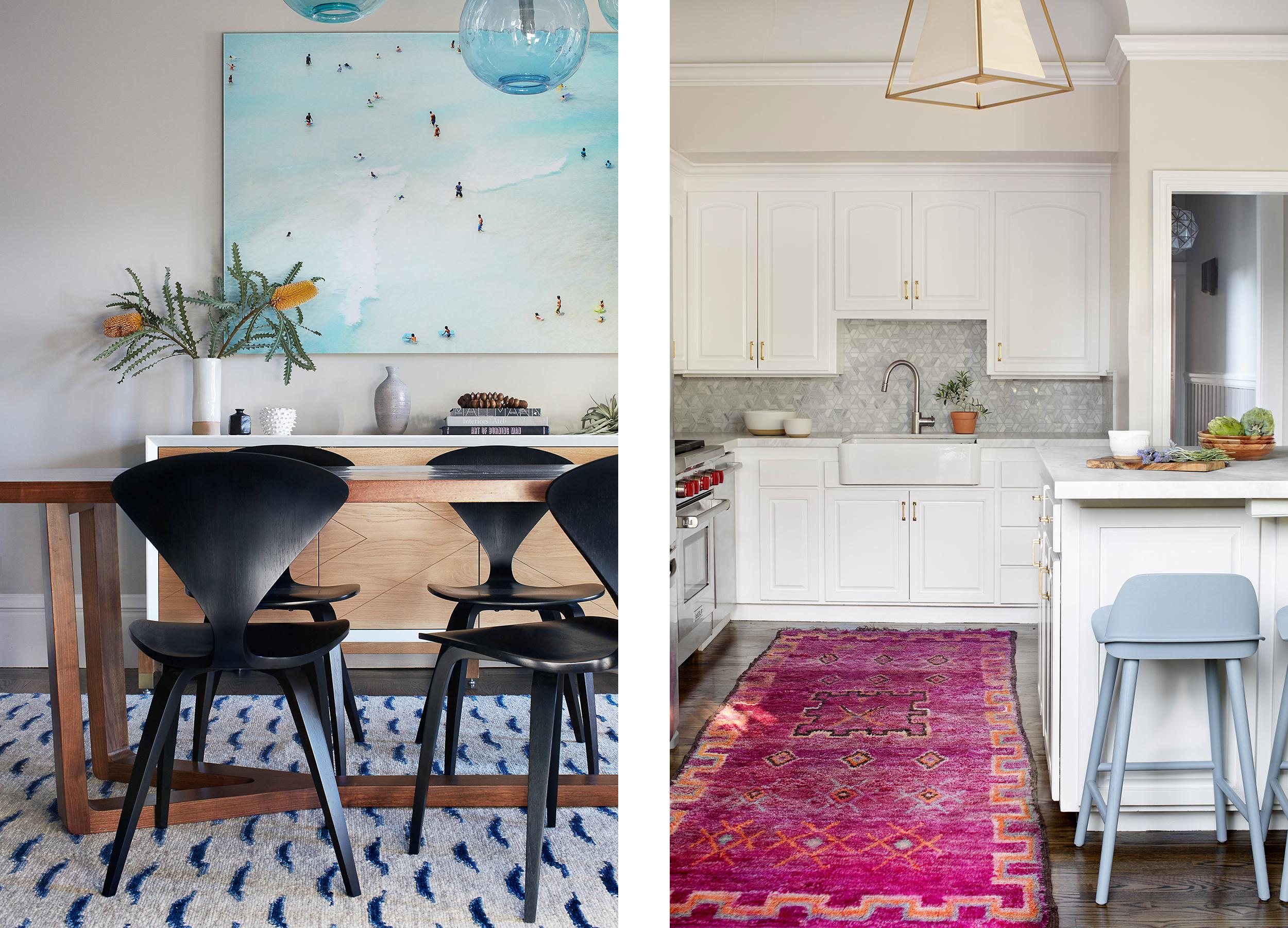 Lauren Nelson Design // California Street Home // Dining Room & Kitchen