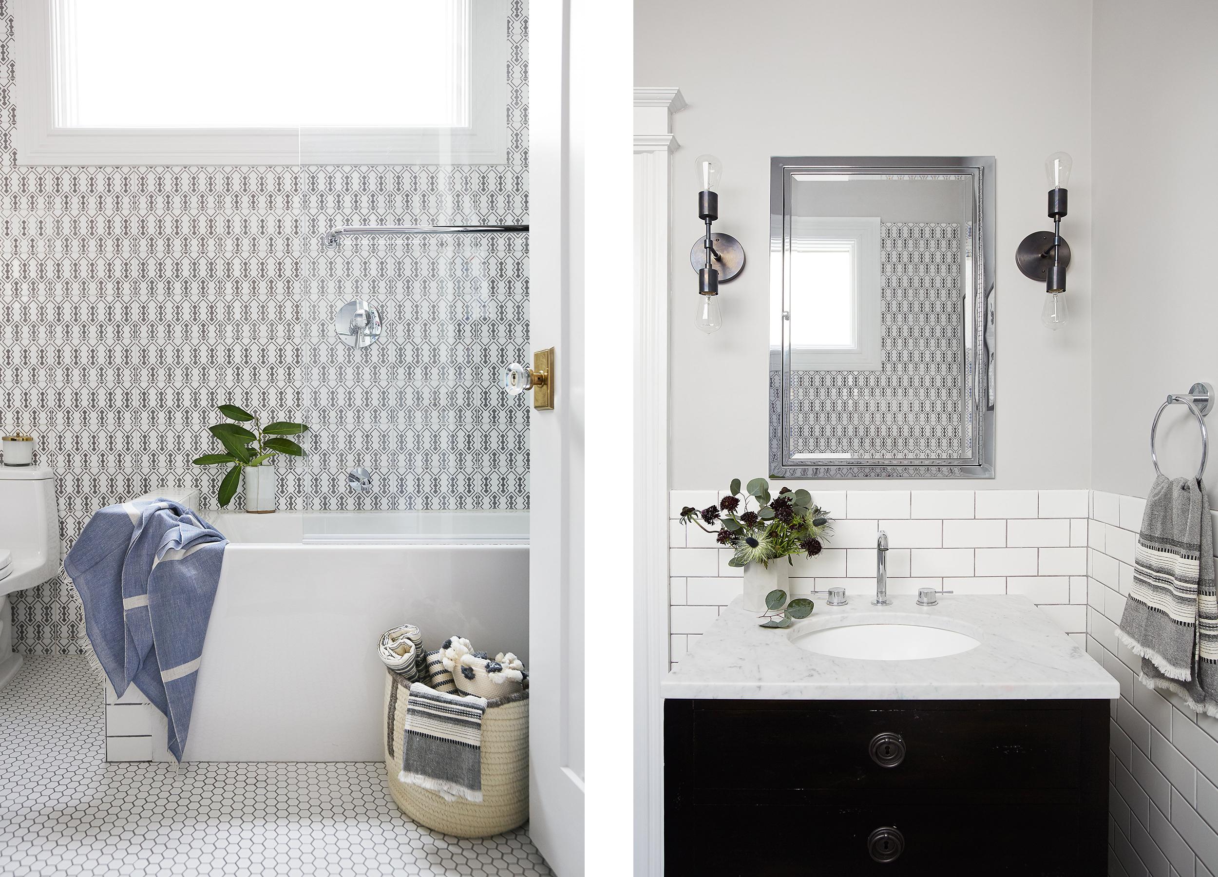 Lauren Nelson Design // California Street Home // Master Bathroom