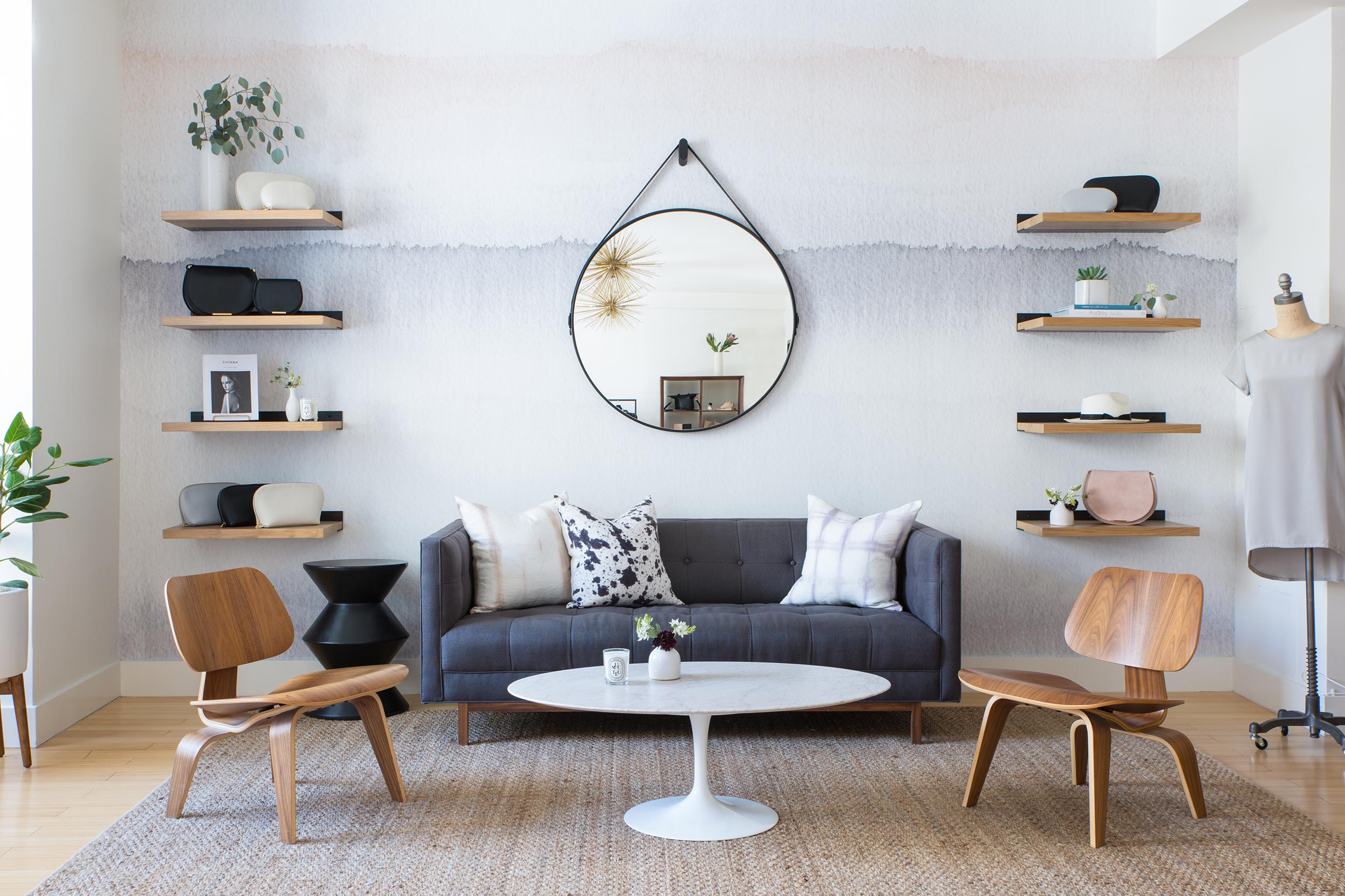 Lauren Nelson Design // Cuyana San Francisco Showroom