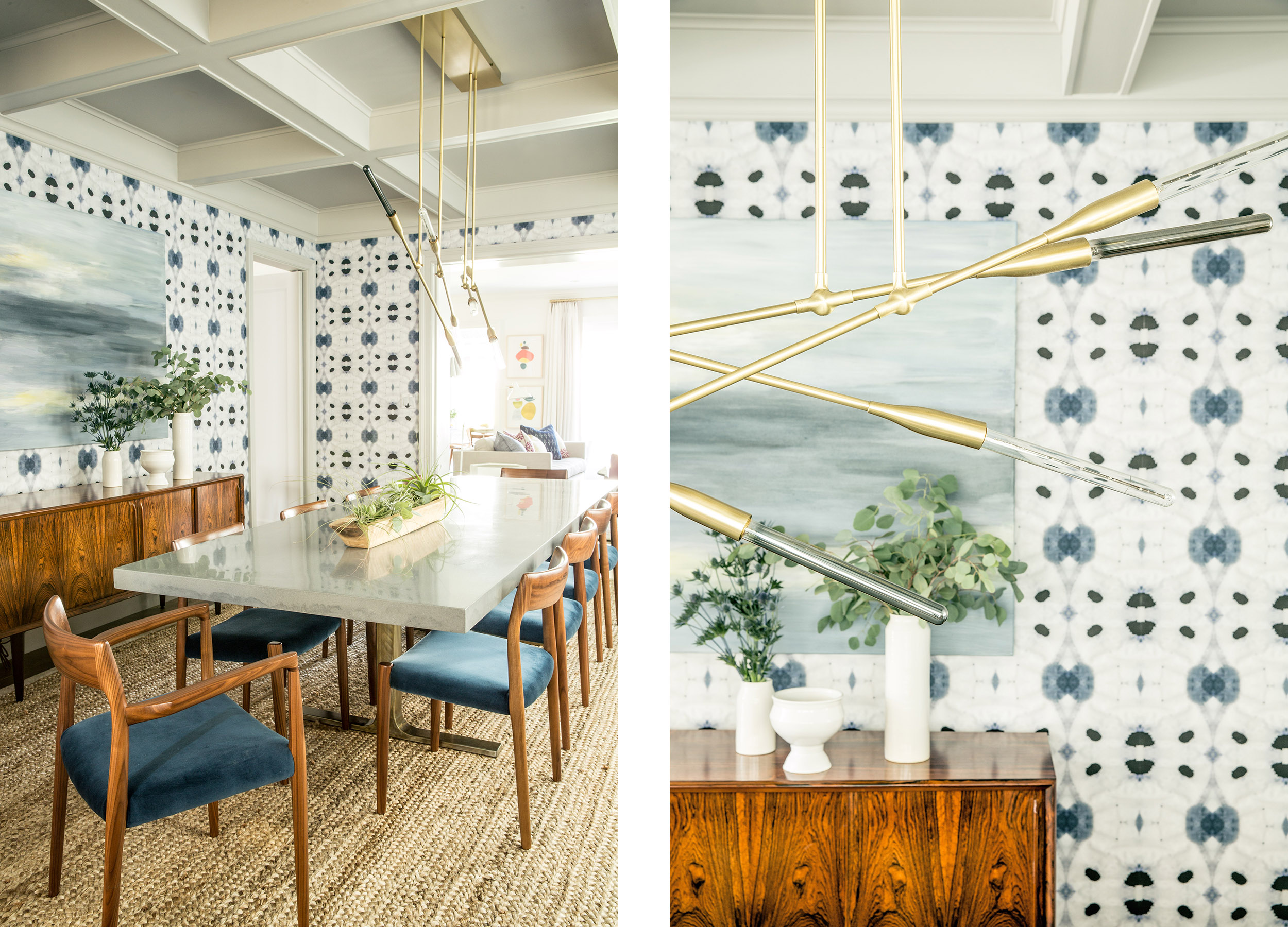 Lauren Nelson Design // San Francisco Home // Dining Room