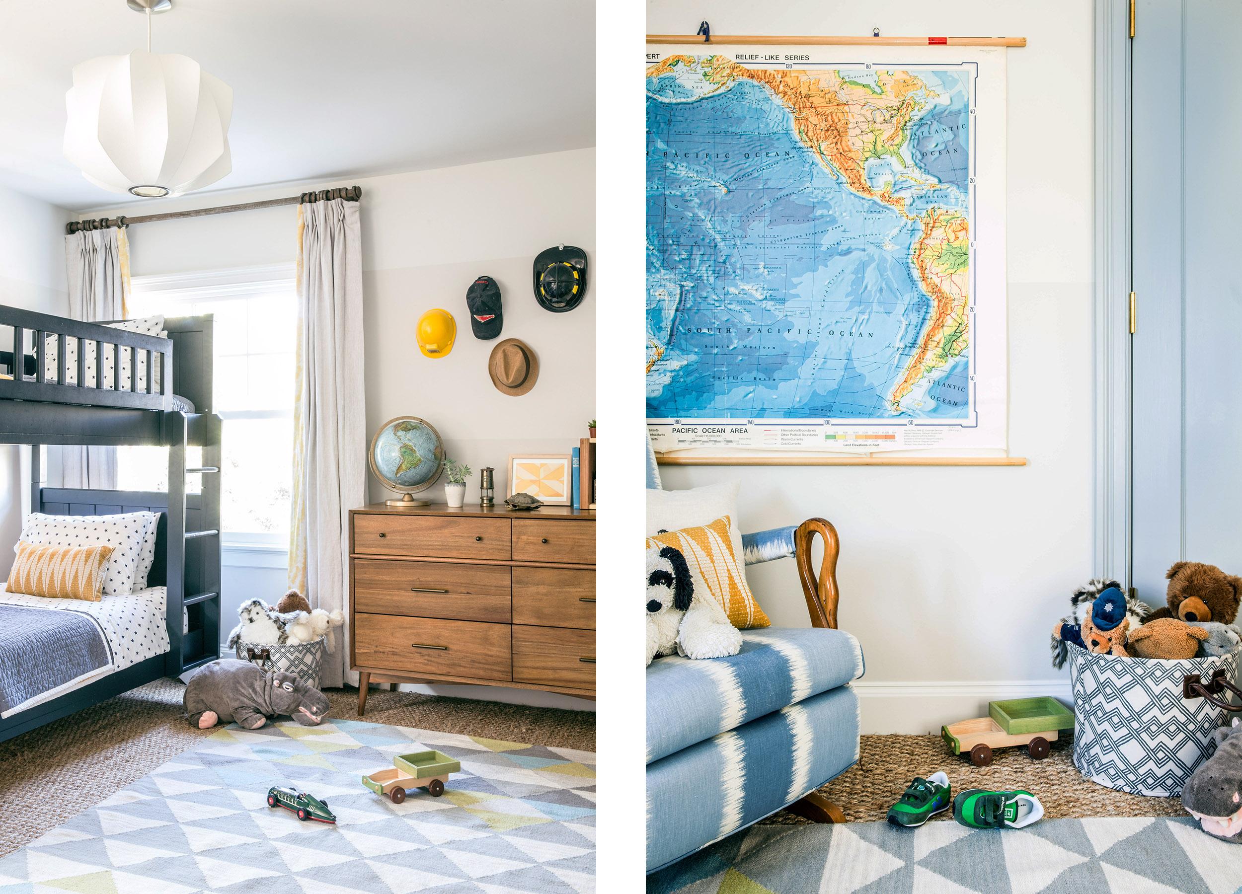 Lauren Nelson Design // San Francisco Home // Child's Room