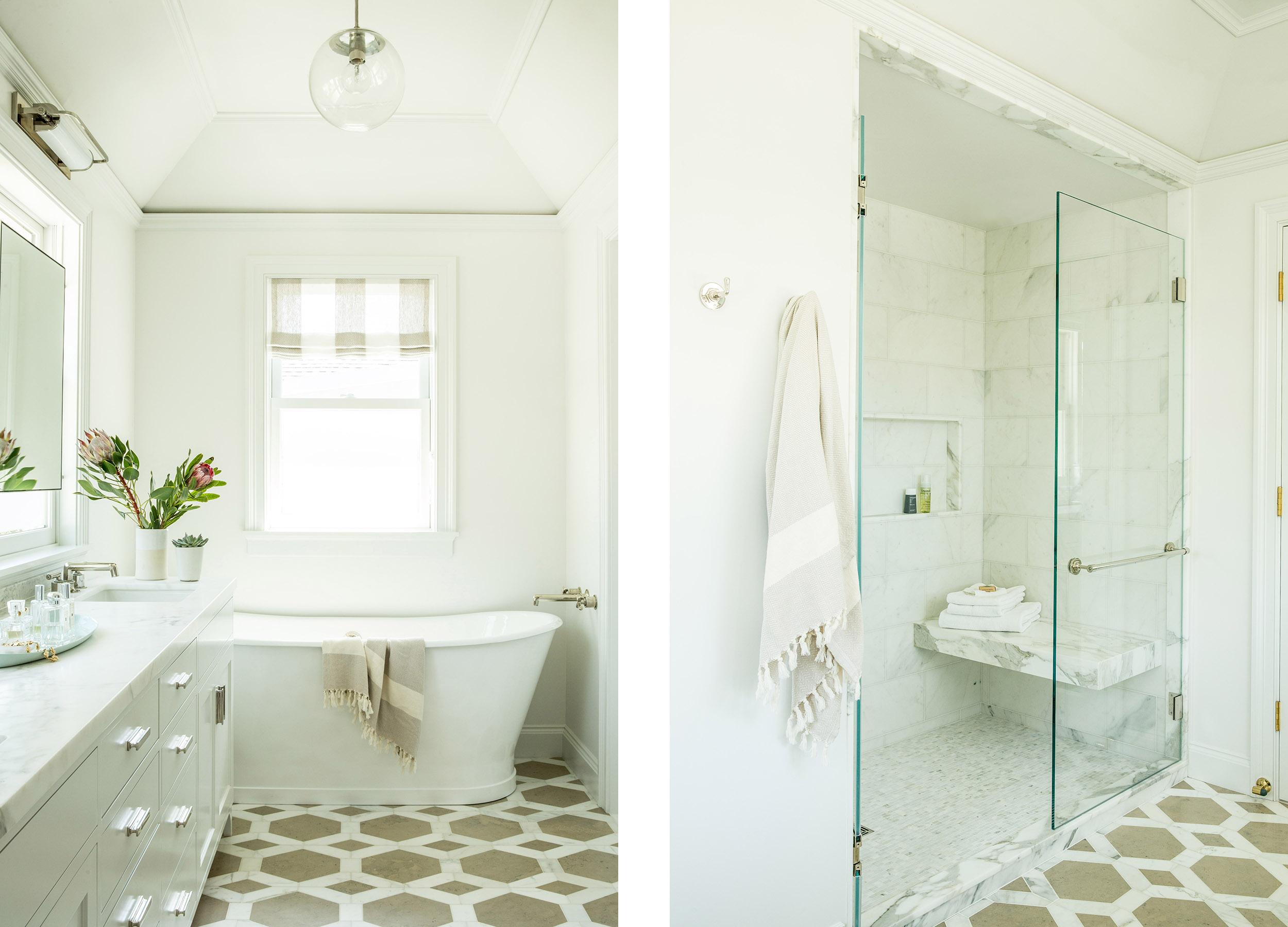 Lauren Nelson Design // San Francisco Home // Master Bathroom