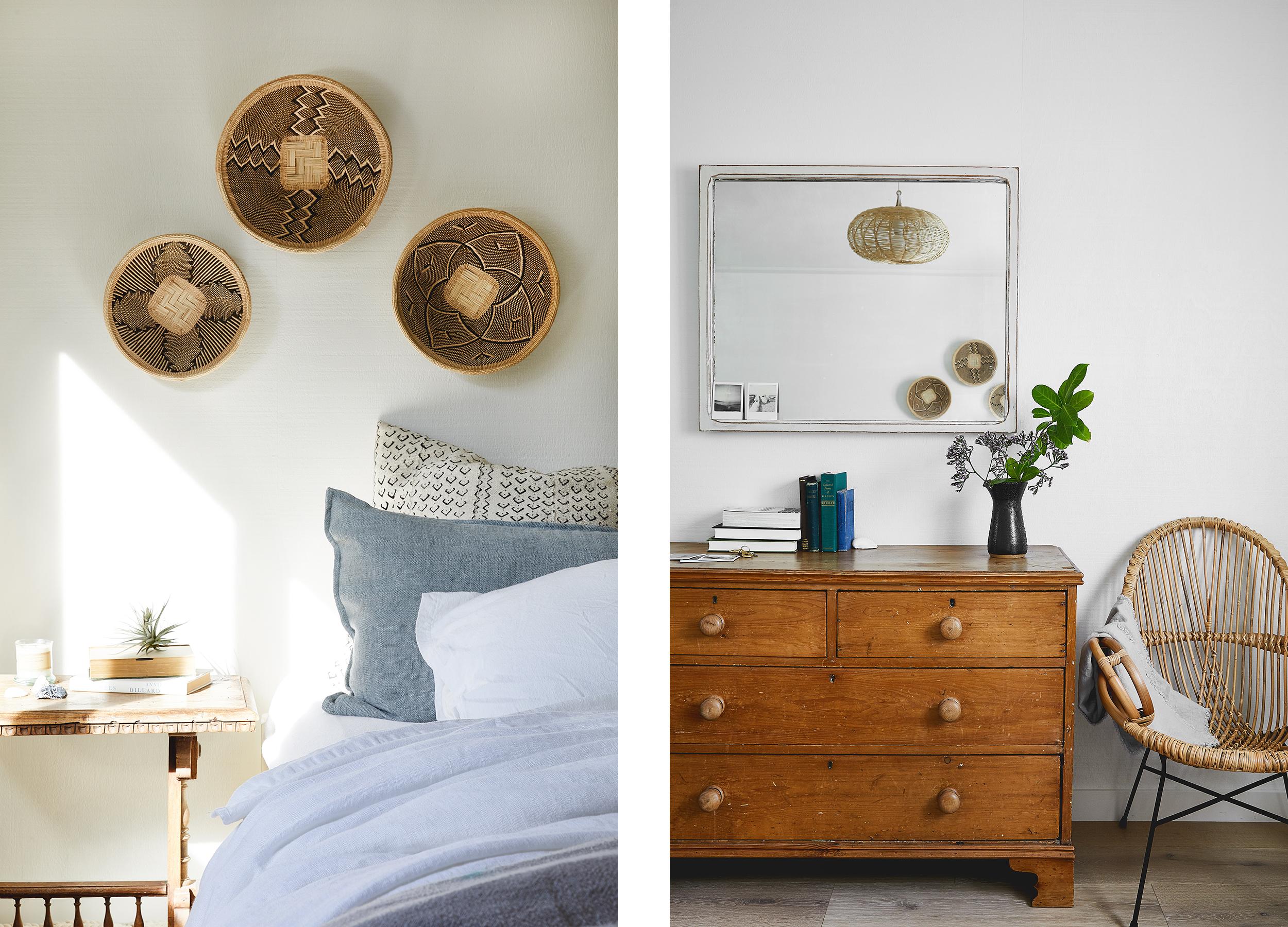 Lauren Nelson Design // Stinson Beach Home // Master Bedroom
