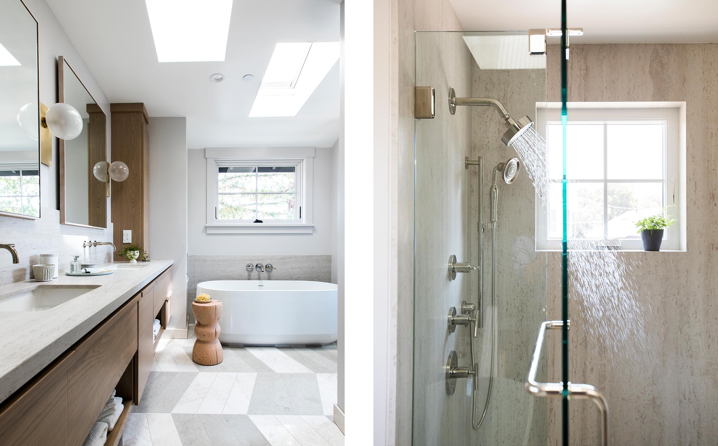 Lauren Nelson Design // Sunset Idea House // Master Bathroom