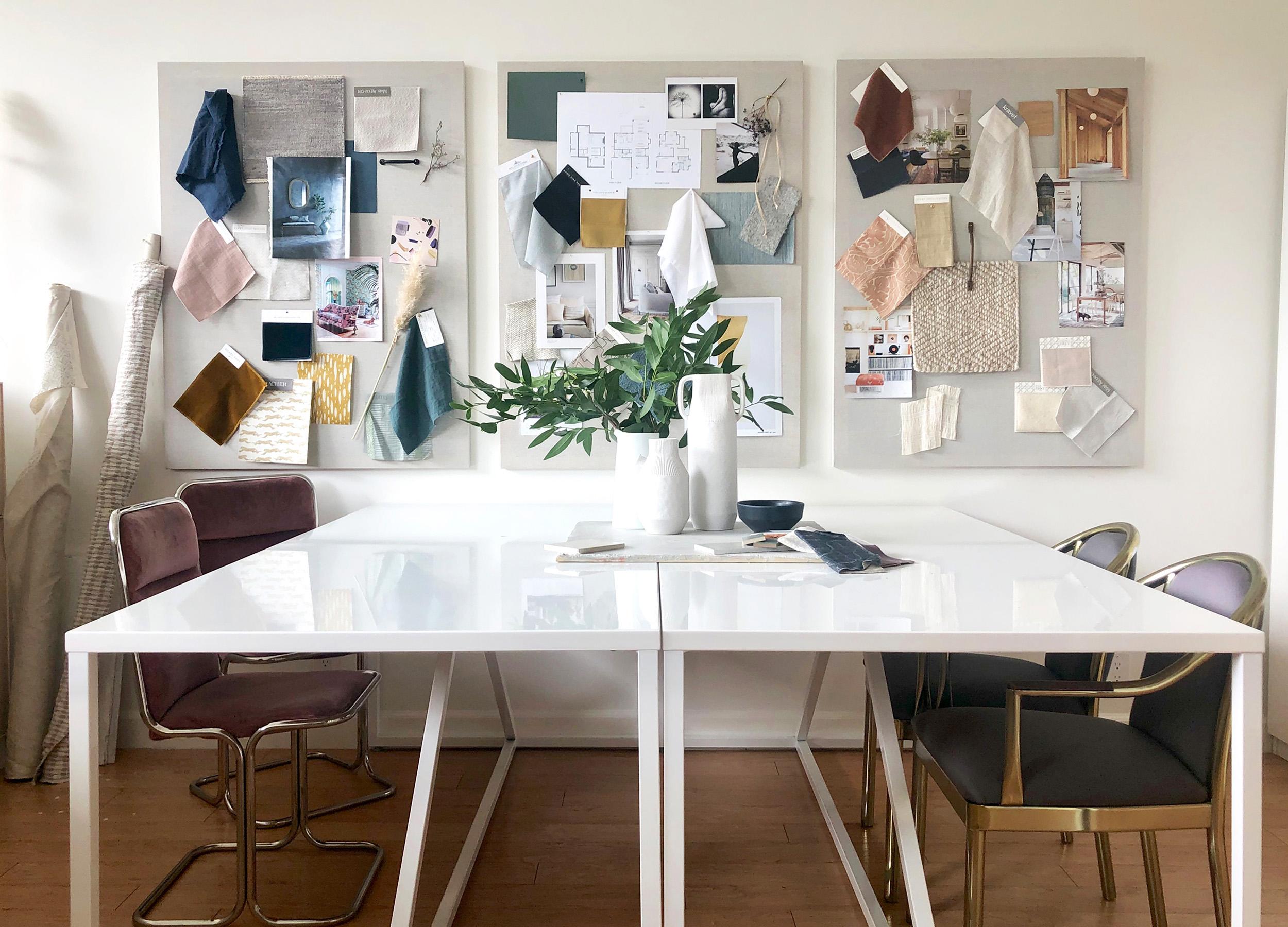 Lauren Nelson Design - LND Office - Design Room