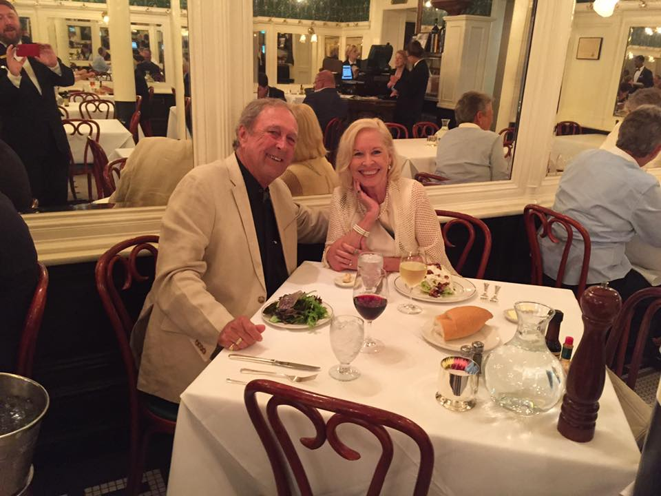 Our 50th wedding anniversary at Galatoire's