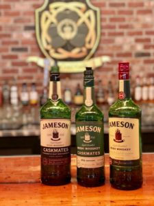 Jameson is renowned for its signature smoothness.