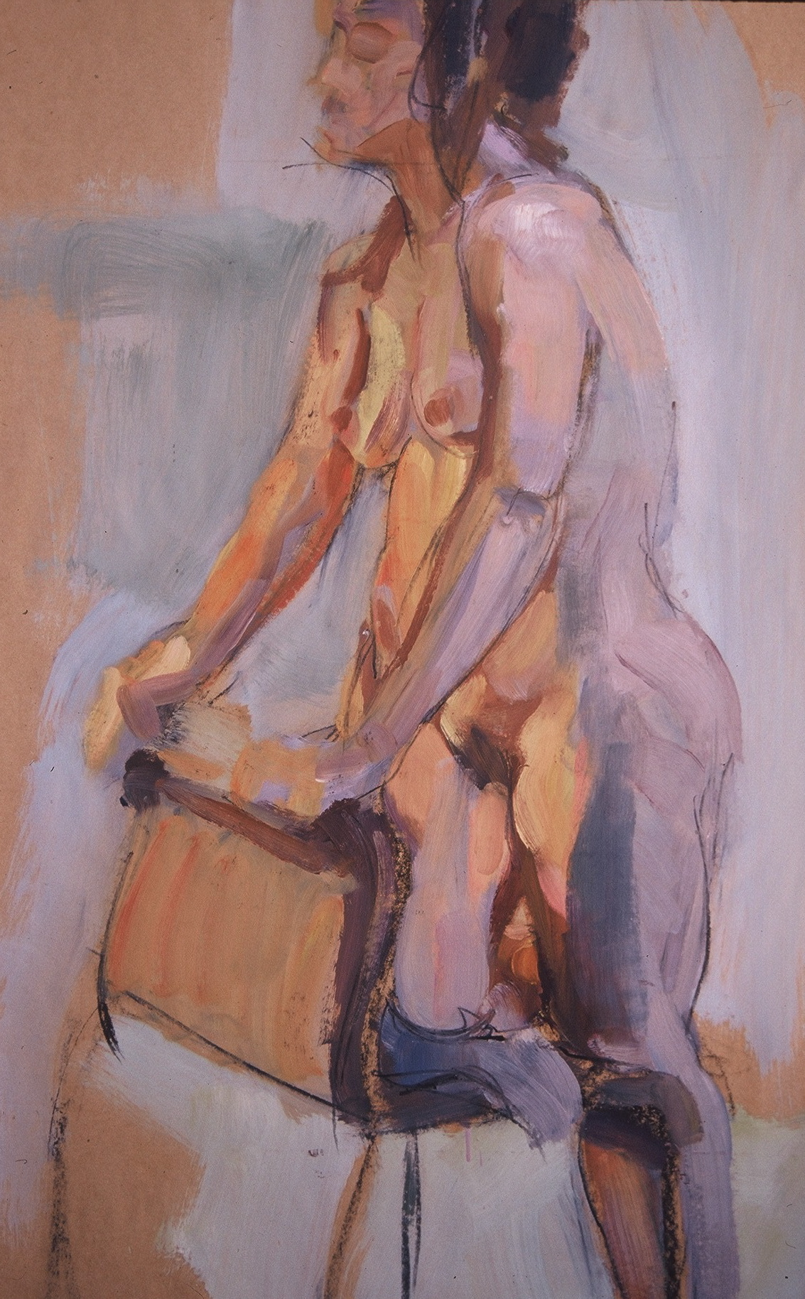 Figure Study in Hot and Cold