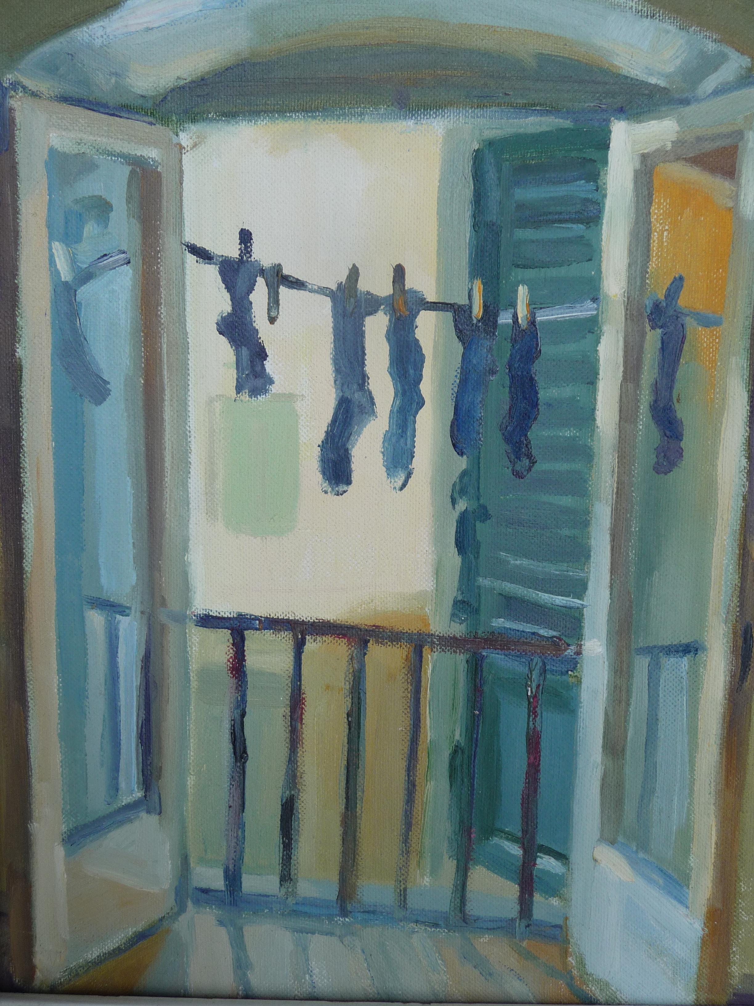 Purple Socks  (Florentine Apartment)