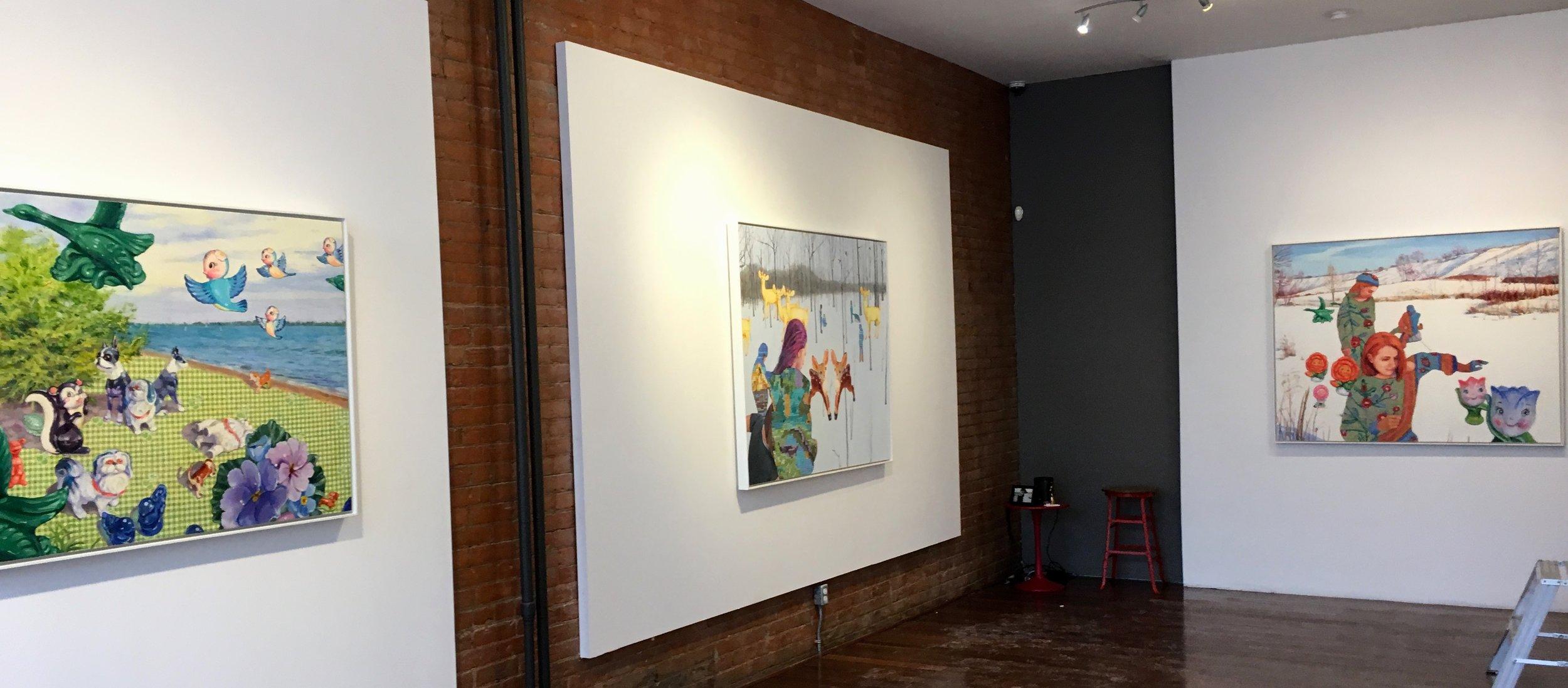 Elaine Fleck Gallery, 2019