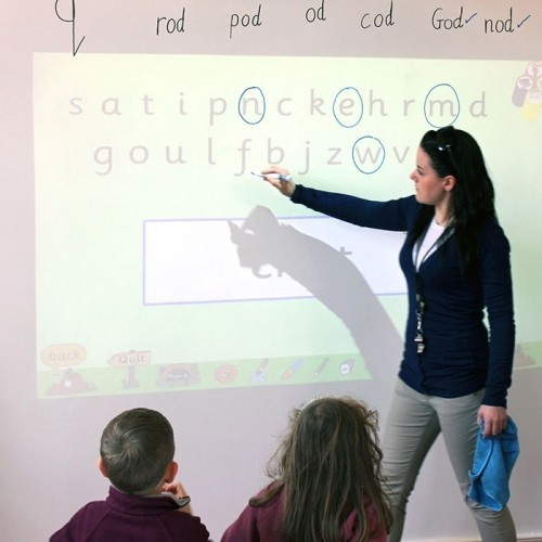 Smart 2-in-1 Wallcovering: Projector and Dry Erase - This dual functionality wallcovering gives all the benefits of a dry erase and projection surface. It's low-sheen finish reduces hot spots, making it the ideal solution for interactive presentations.