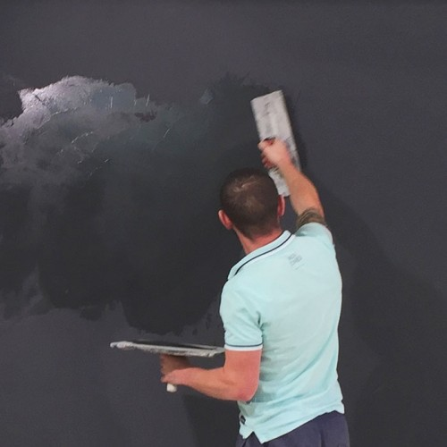 Smart Magnetic Plaster - Smart Magnetic Plaster is a pre-mixed high performance commercial grade plaster that allows you to transform walls into magnetic spaces.