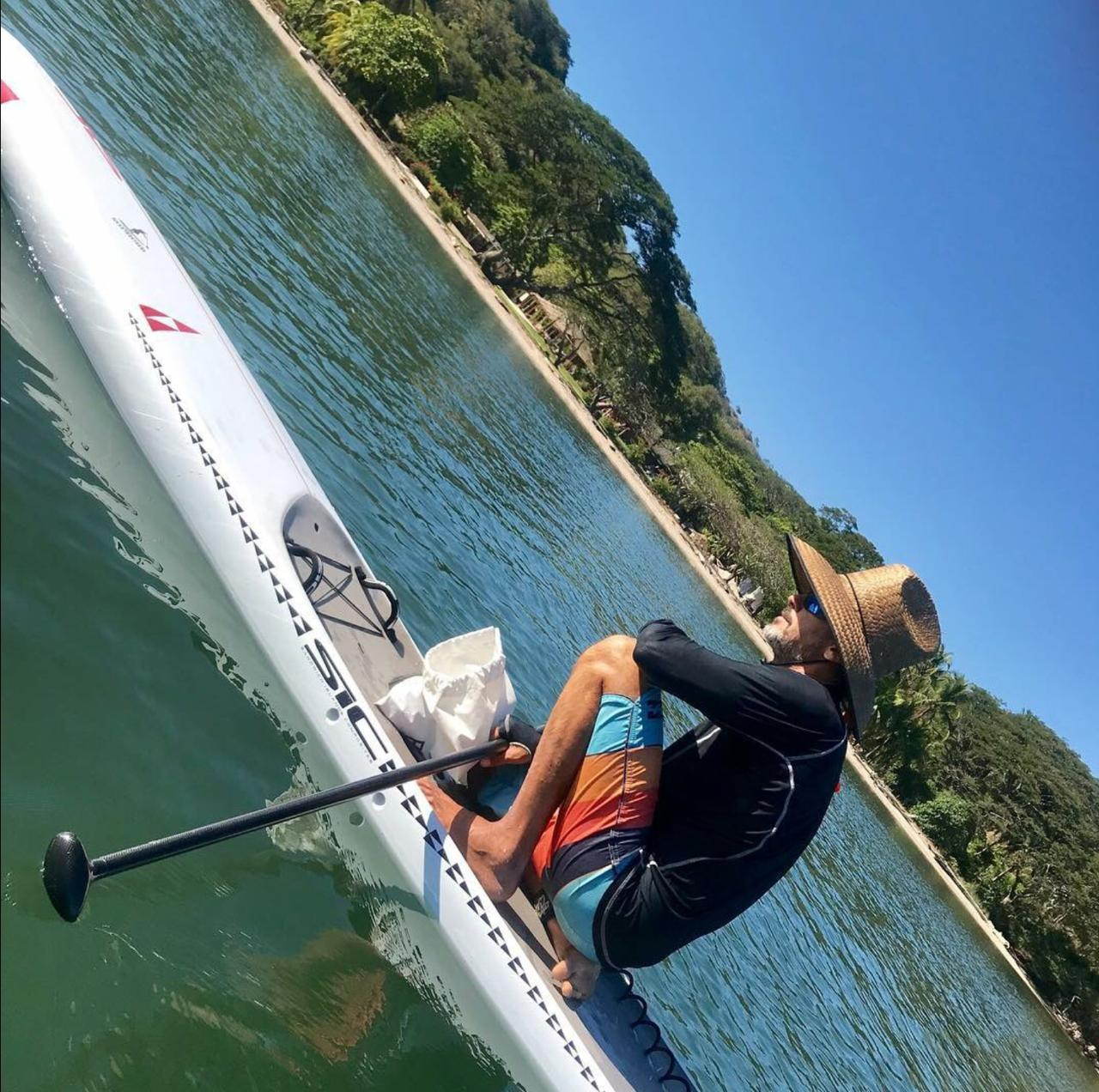 RONALD - Chief Instructor, owner and professional lifeguard for over 25 years. Certified SUP and SURF Instructor. 30 years of experience as a Waterman .