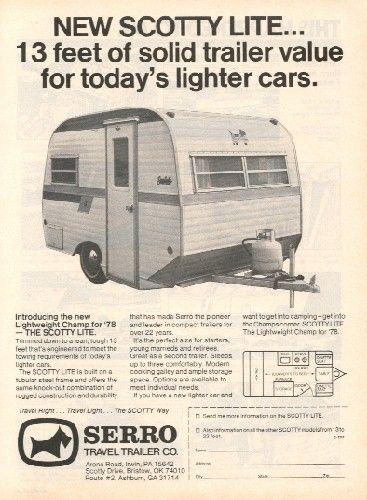 Serro Scotty Lite Ad from 1979