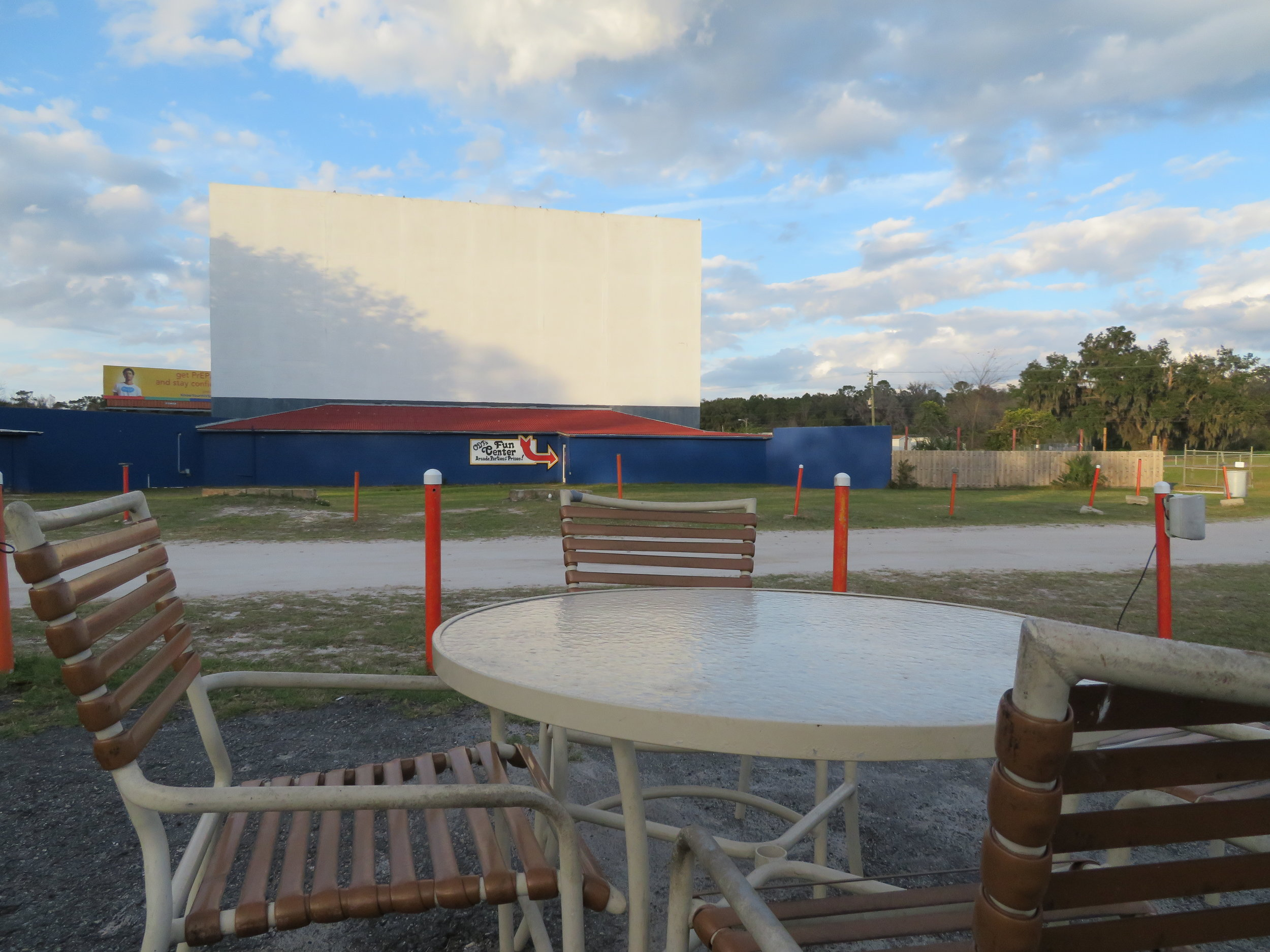 The Ocala Drive-in in Daylight