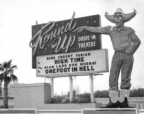Scottsdale's Old Round Up Drive-in Theatre