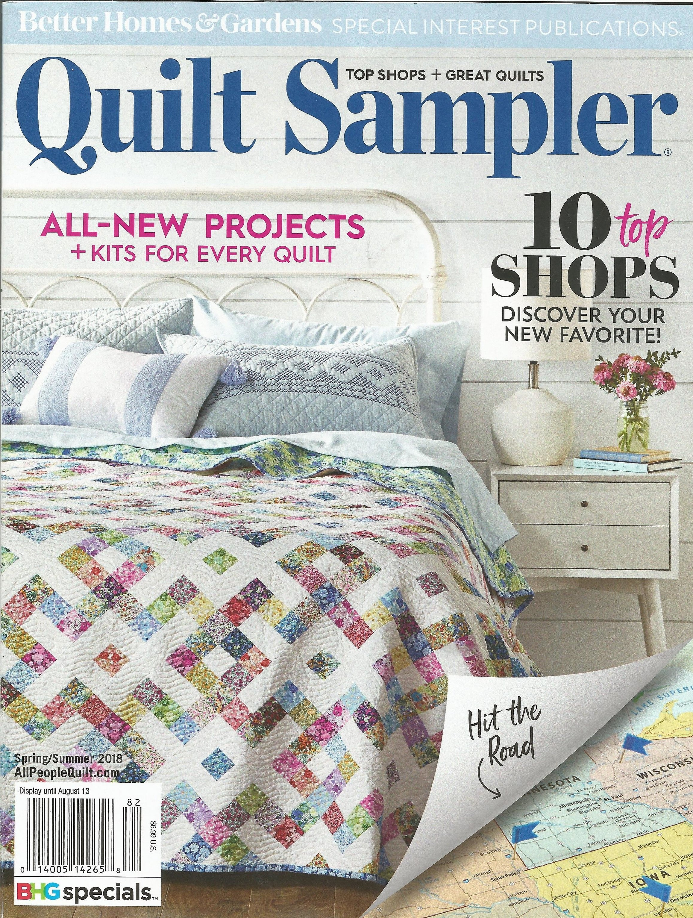 ARTISTIC ARTIFACTS FEATURED    QUILT SAMPLER MAGAZINE NAMED ONE OF THE TOP TEN SHOPS!!!!!!    READ CONTENT OF ARTICLE BELOW