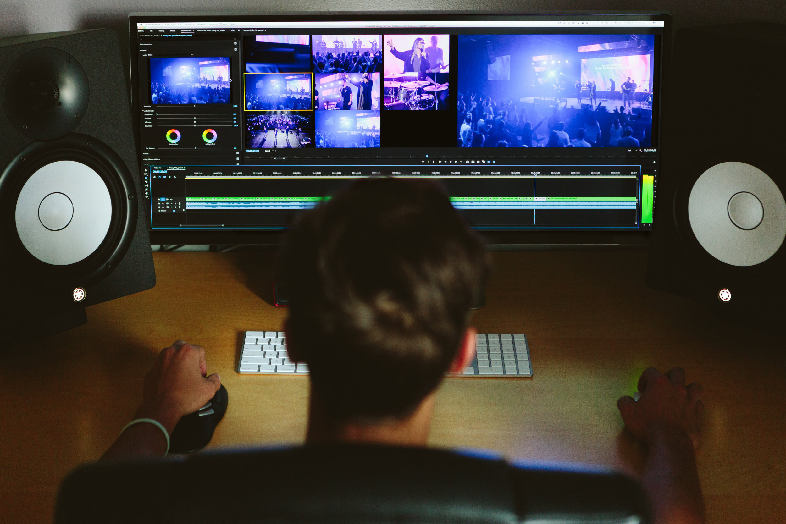 POST-PRODUCTION - Obsession is key when it comes to editing, and we're obsessed with getting every second to be impactful, engaging, seamless and goal driven. This really gets us jumping out of our editing seats with excitement.