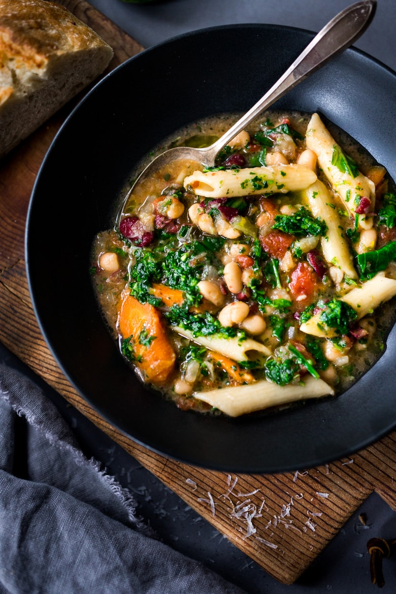 Feasting At Home, Instant Pot Minestrone