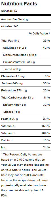 Thai Vegetarian Salad with Sunbutter Dressing MyFitnessPal com.png