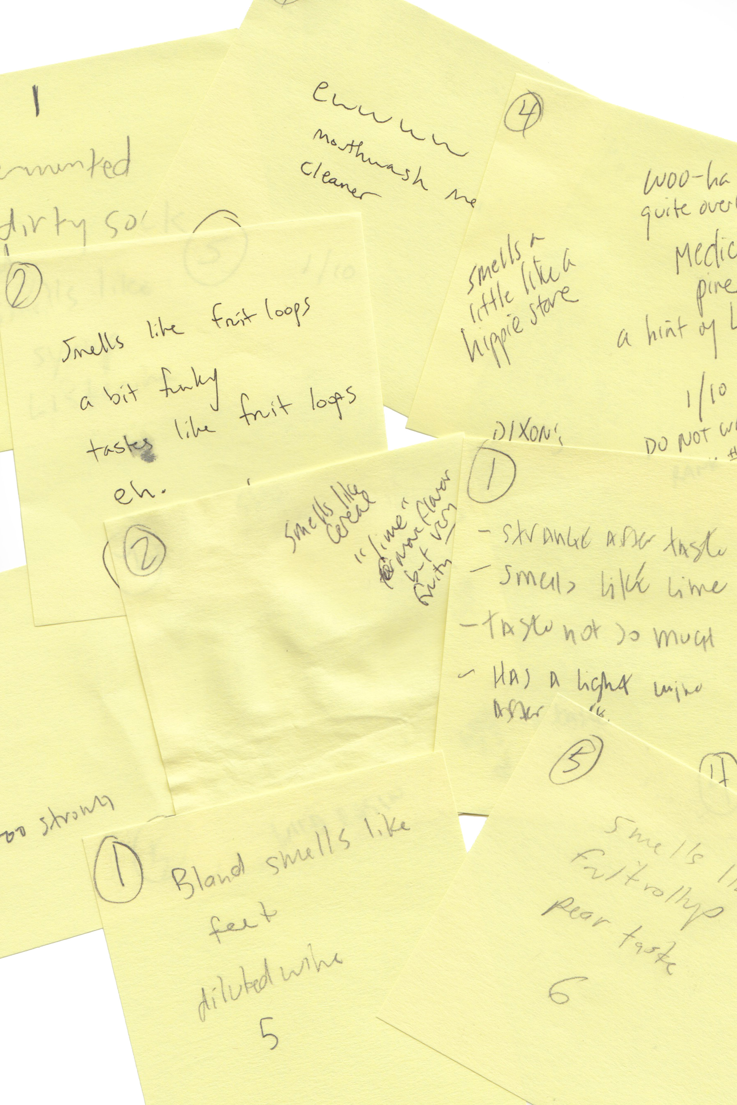 Our funny notes!