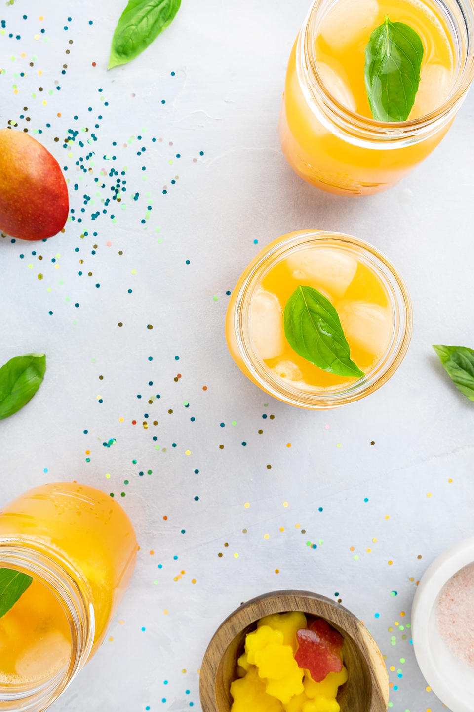 JodiLoves-Mango-Basil-Fizzy-Mocktail-Mango-pieces.jpg