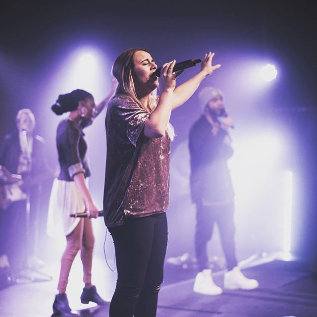 "~⁣ I will bless Your name, ⁣ every breath I take⁣ I will praise You from ⁣ the valley to the mountaintops⁣ I will lift my hands, ⁣ I'm not holding back⁣ I will praise You from ⁣ the valley to the mountaintops⁣ - The Belonging Co -⁣ ""Mountaintops"""