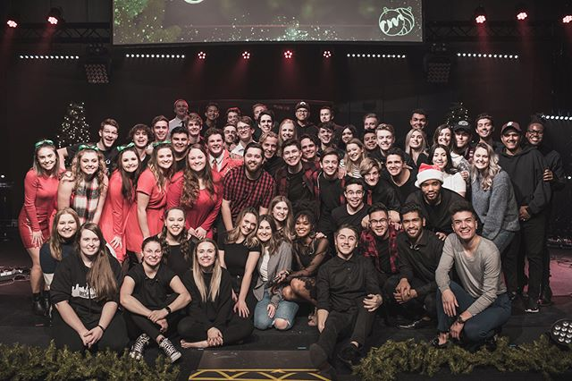 Christmas Pursuit is a highlight for us every year. One of our best traditions is ending the night in worship with all NU Worship team members... past and present!  We pray that last night was both a powerful time of worship and a joyous time of celebration for all! #nuworship