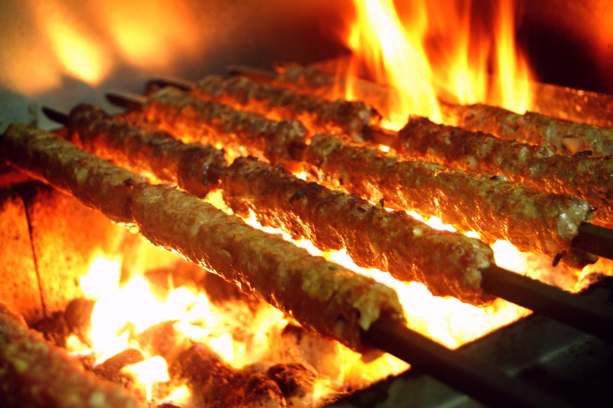 Seekh Kebab -