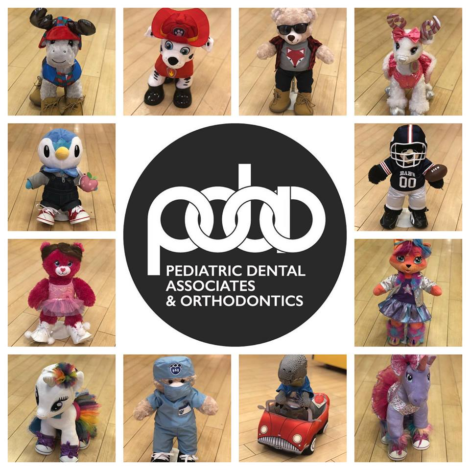 Pediatric Dental Associates & Orthodontics Build a Bear Give Away.