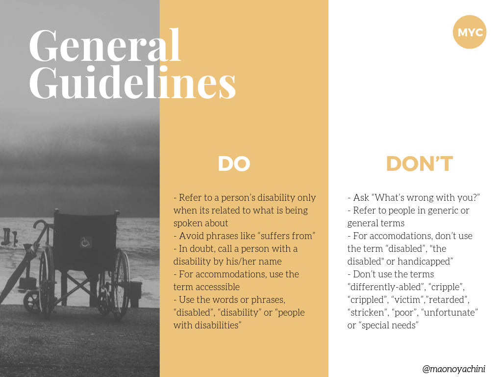 General guidelines for using attentive disability language (1)