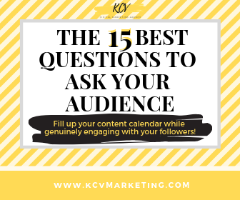 15 questions to ask audience for content